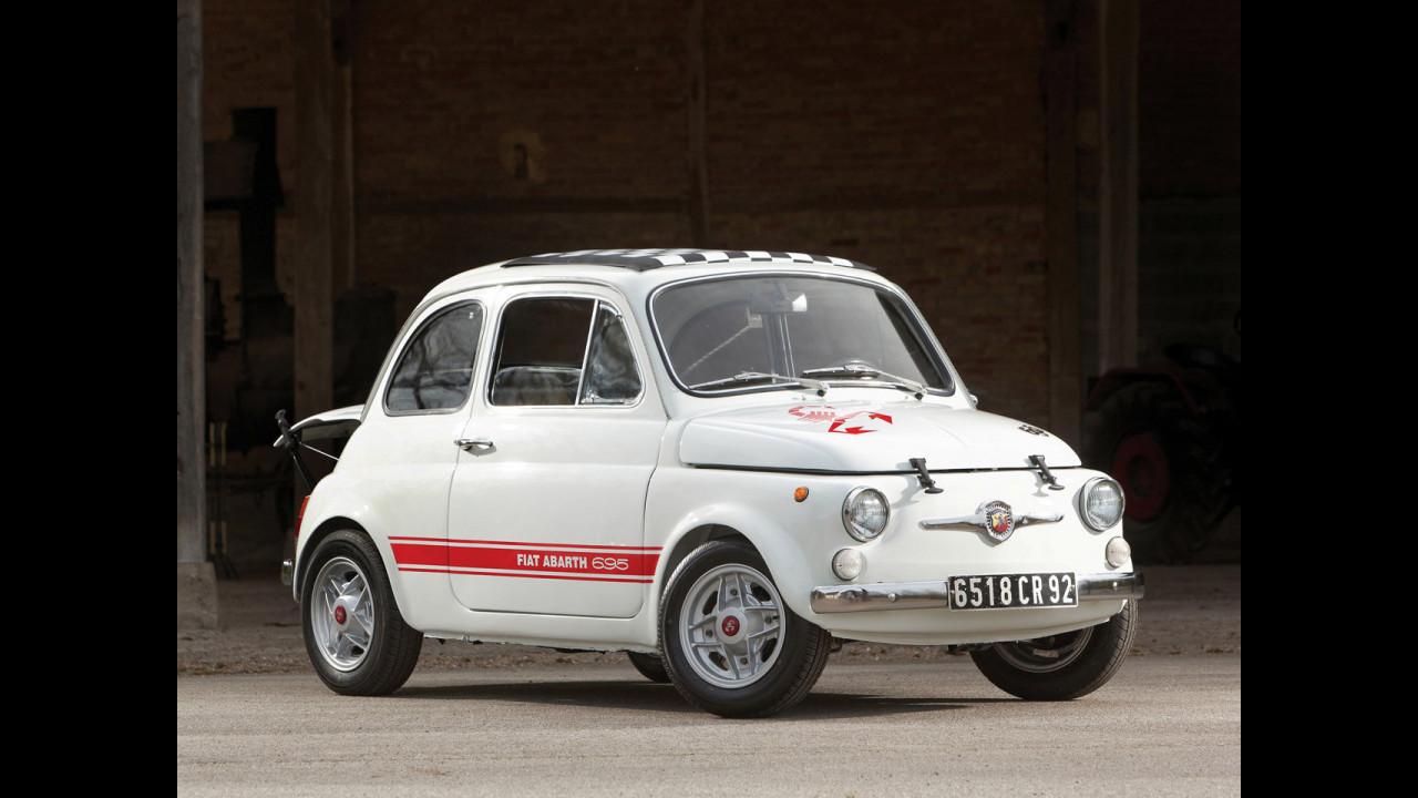 Fiat Abarth 500, le foto storiche