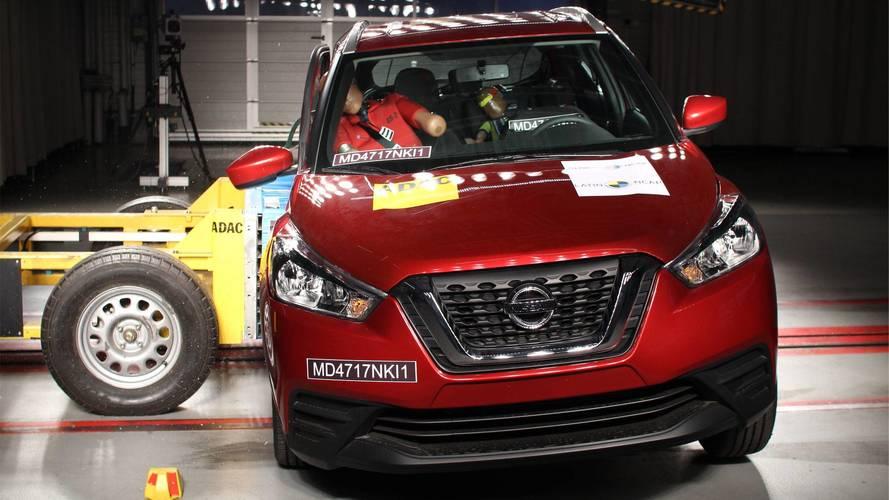 Nissan Kicks recebe 4 estrelas em teste de colisão