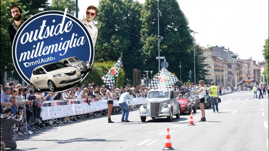 """Outside Mille Miglia, l'amore """"vero"""" per le auto [VIDEO]"""
