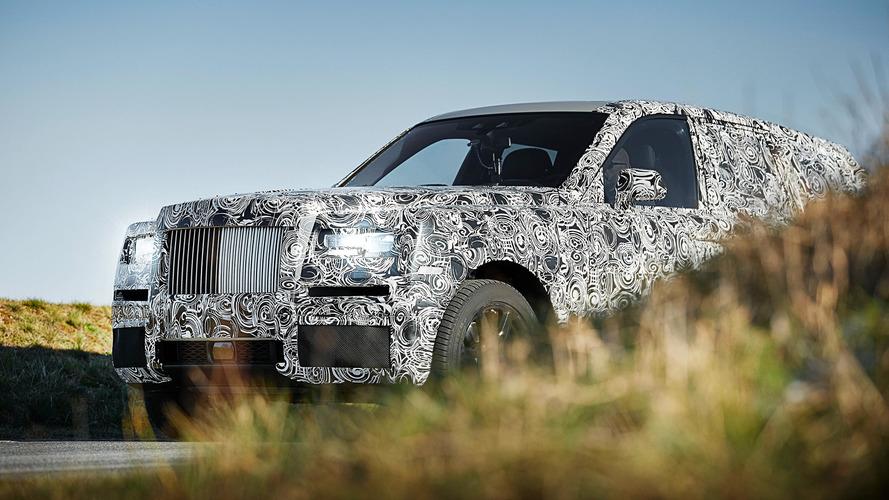 Rolls-Royce Cullinan SUV prototipi ile görücüye çıktı