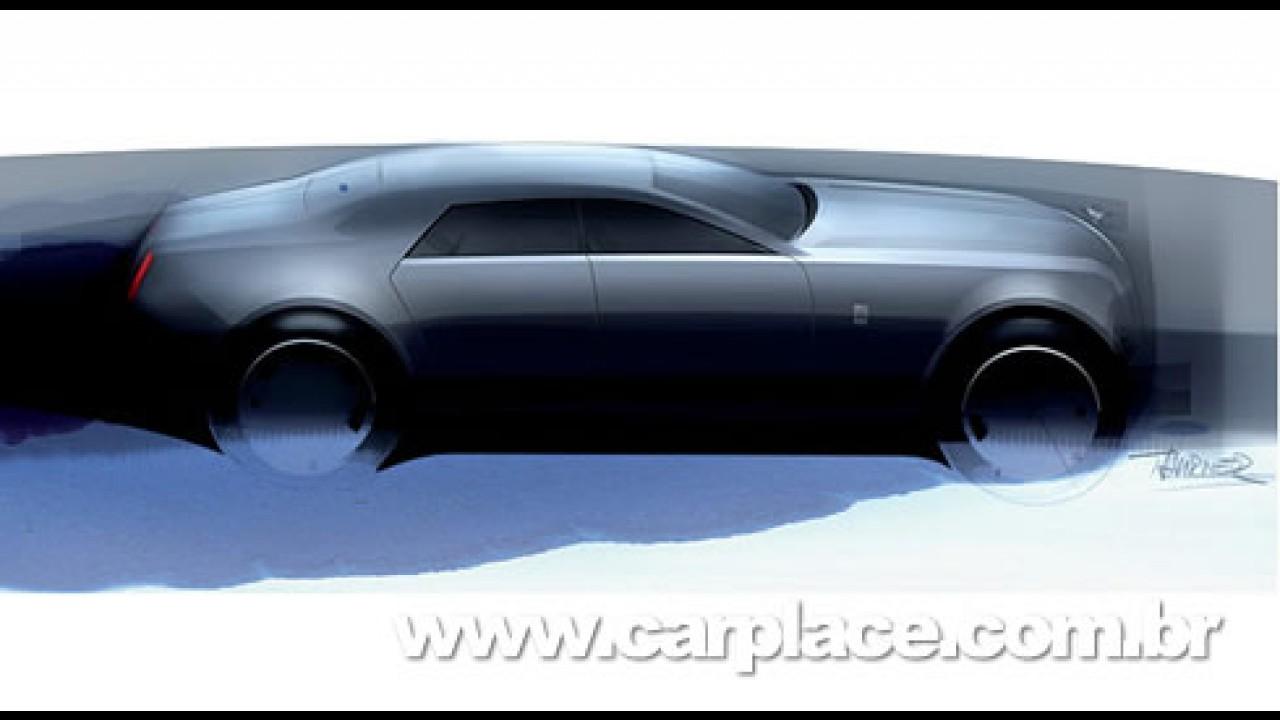 "Rolls-Royce mostra esboço do futuro modelo esportivo batizado de ""RR4"""