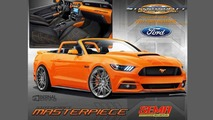 2016 SEMA'da sergilenecek Ford Mustang ve Fusion Sport