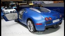 Bugatti Veyron Bleu Centenaire 2009 - Sim! Ele tem 1.400cv e atinge 439 km/h!