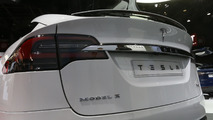 Tesla Model X 2016 Mondial de l'Automobile