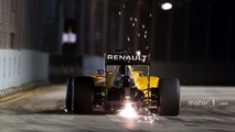 F1 Singapore Grand Prix - Race (Live Commentary)