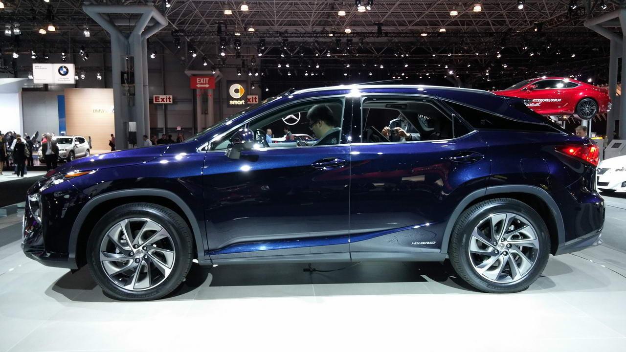 Lexus RX al Salone di New York 2015
