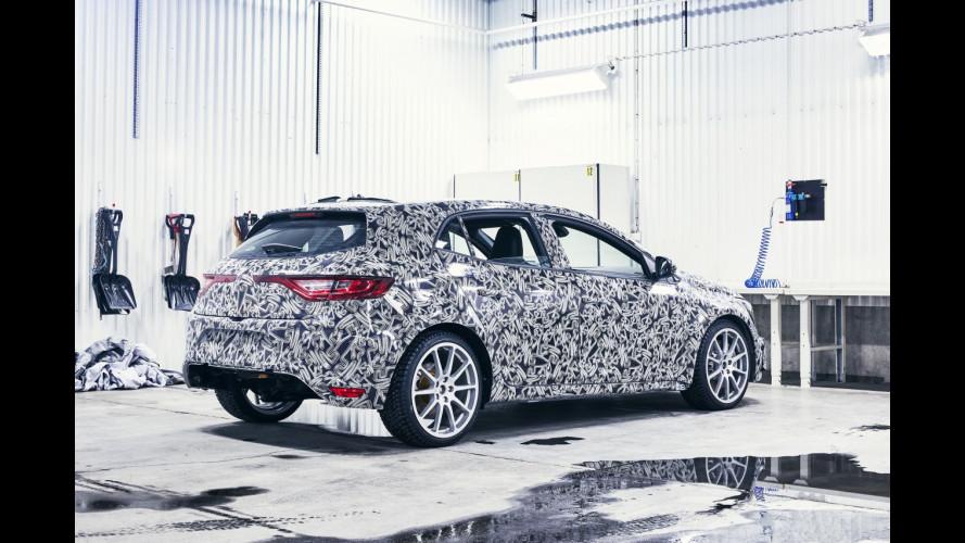 Nuova Renault Megane R.S. avrà il 4CONTROL