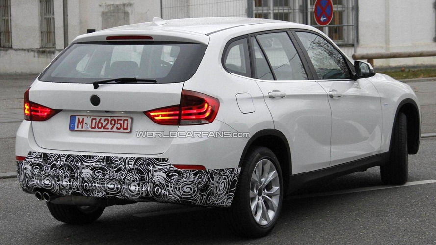 2013 BMW X1 facelift coming to NY Auto Show - report