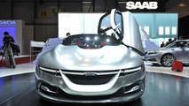 Saab PhoeniX concept live in Geneva - 01.03.2011