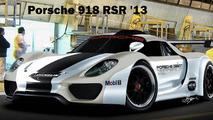Porsche 918 RSR Race Car
