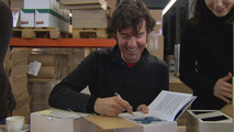 BMW book CULTURE by Stefan Sagmeister, book signing, 09.03.2011