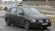 2012 Mercedes-Benz B-Class spied 27.01.2011