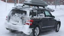Mercedes GLK with LED lights spy photo