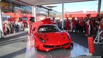 Ferrari 488 GTE and 488 GT3 revealed during Finali Mondiali at Mugello
