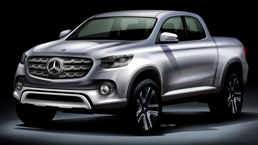 Mercedes pickup truck could be called the X Class