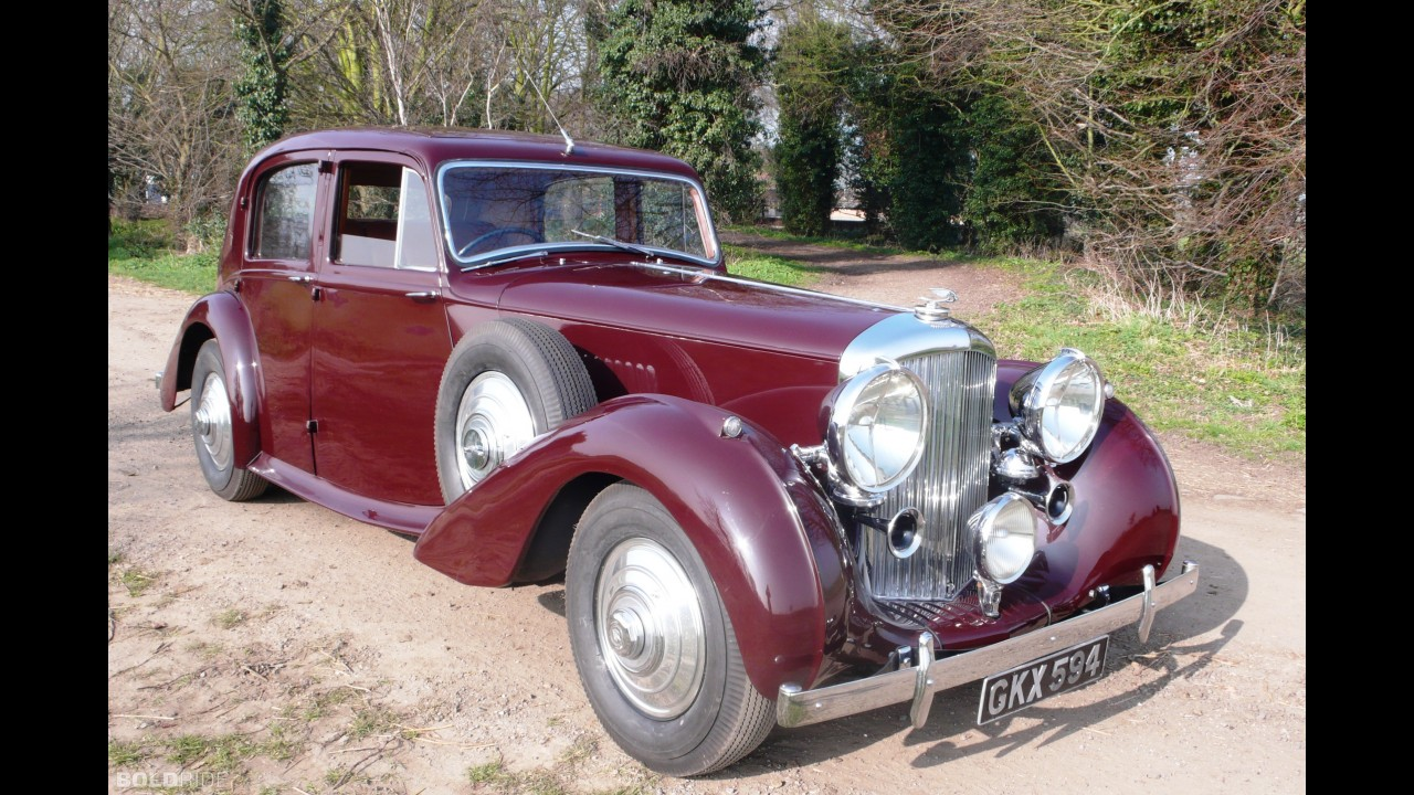 Bentley Mark V 4 1/4 Litre Sports Saloon