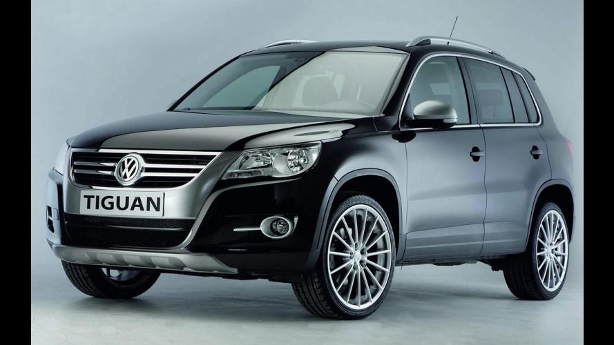 Volkswagen Tiguan 2010: elaborazione di serie