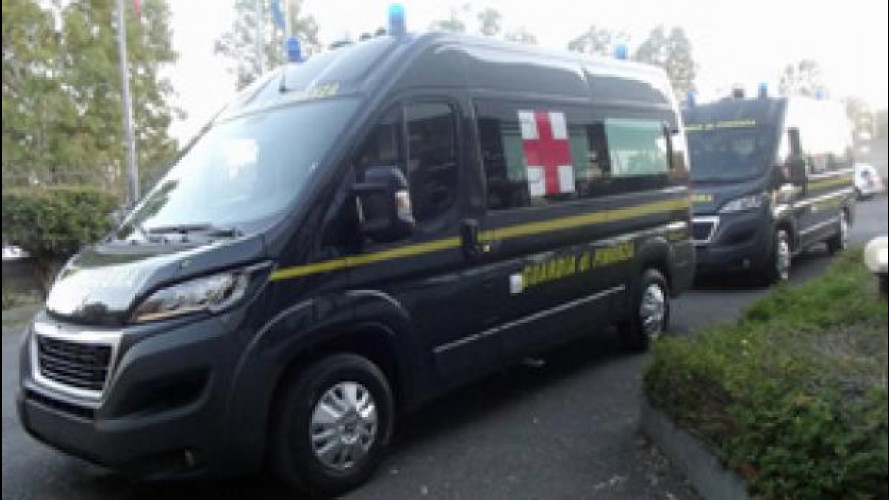 Per Expo 2015 Peugeot Boxer diventa ambulanza