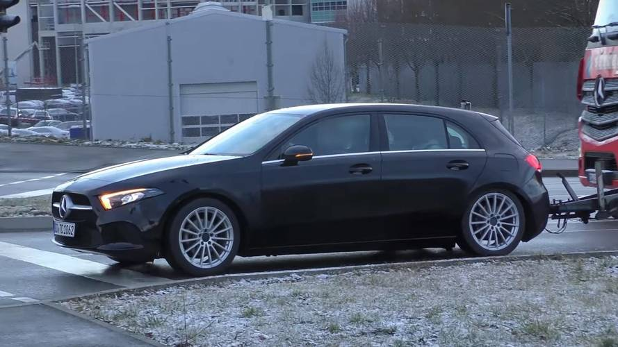 Moment Of Truth: New Mercedes A-Class Filmed On The Road