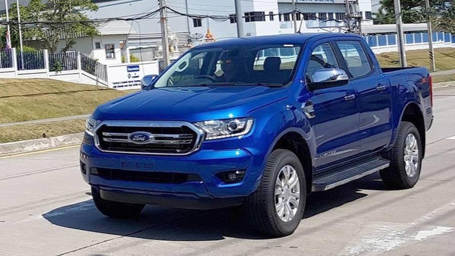 2018 Ford Ranger kamuflajsız görüntülendi