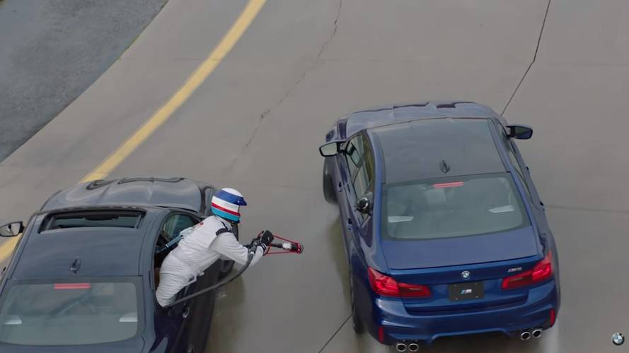 BMW Talks Car-To-Car Refueling Necessary For M5's 8-Hour Drift