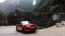 Range Rover Sport PHEV défi La route du dragon