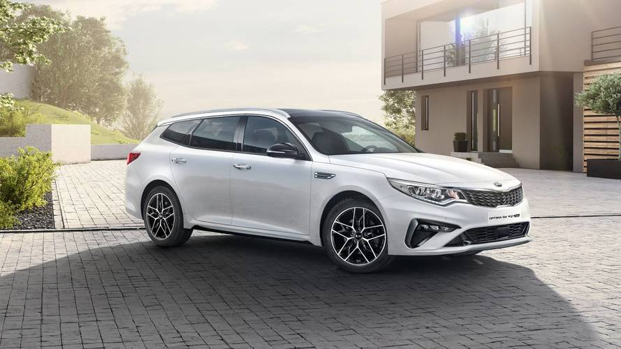 Kia's bringing a refreshed Optima to Geneva