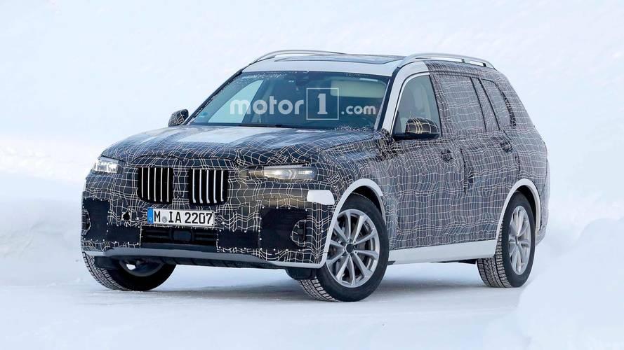 Le BMW X7 s'affûte avant sa première présentation