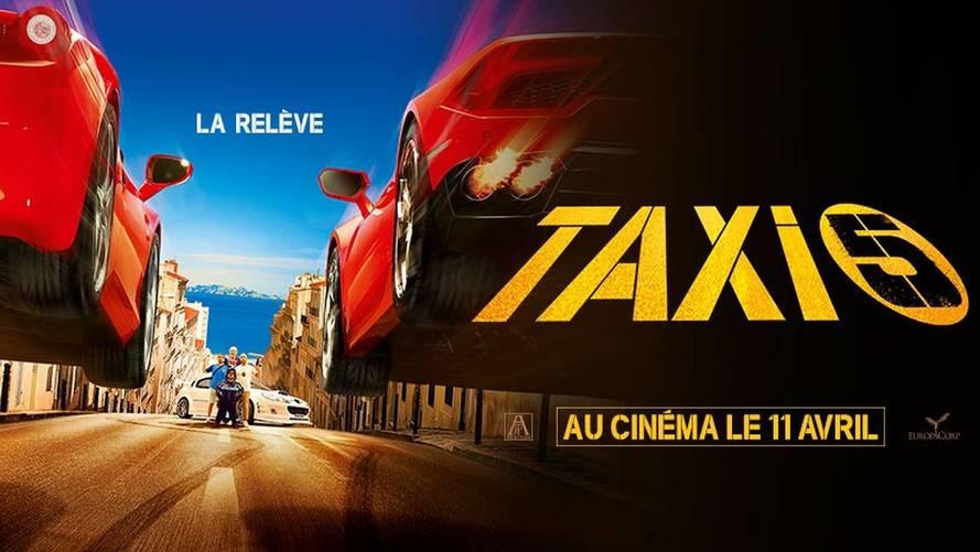Taxi 5 sort en salles aujourd'hui !
