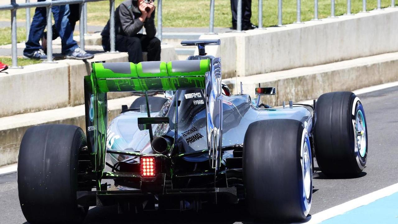 Lewis Hamilton (GBR), 09.07.2014, Formula One Testing, Silverstone, England / XPB
