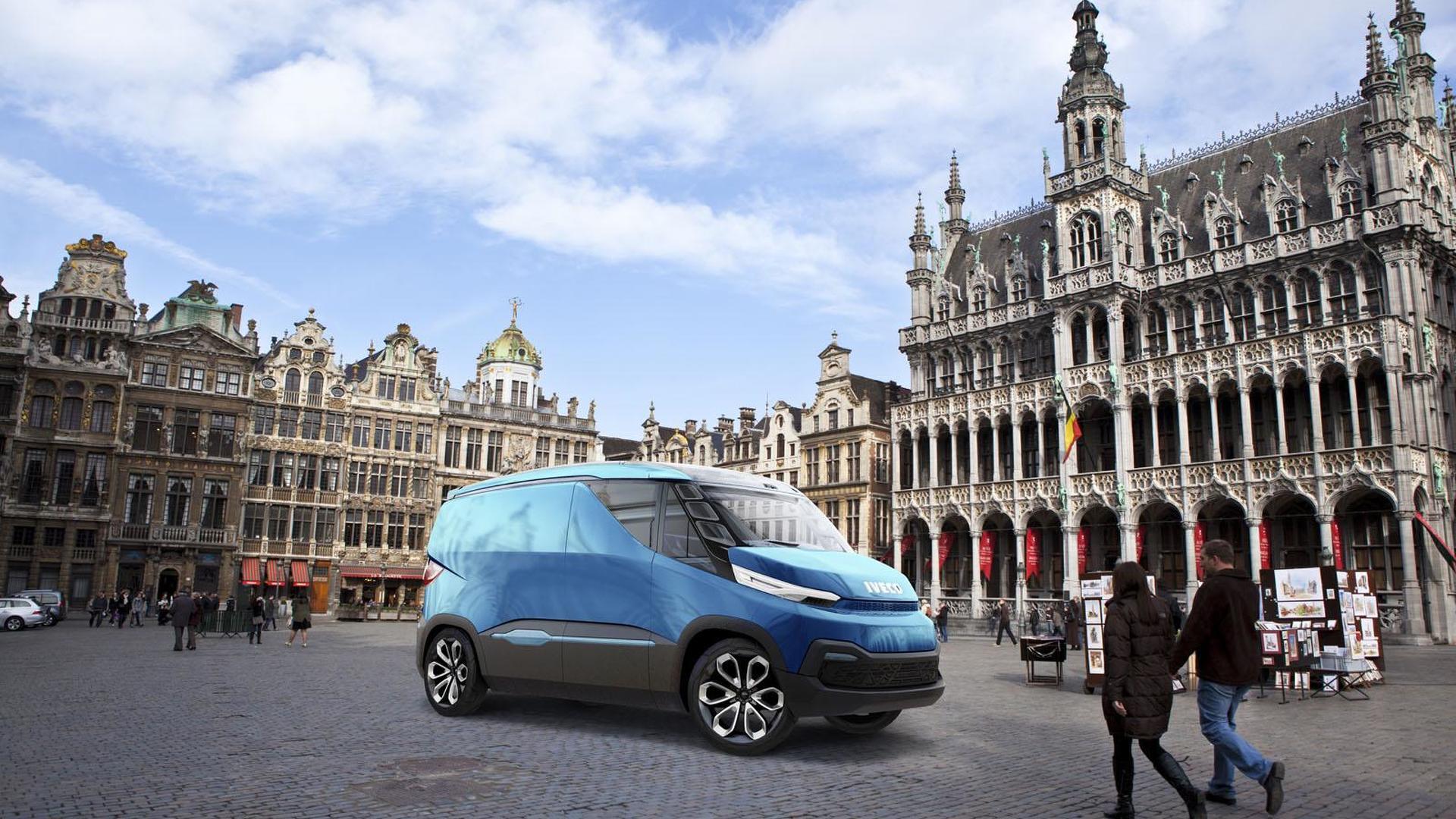 Фургон будущего Iveco Vision
