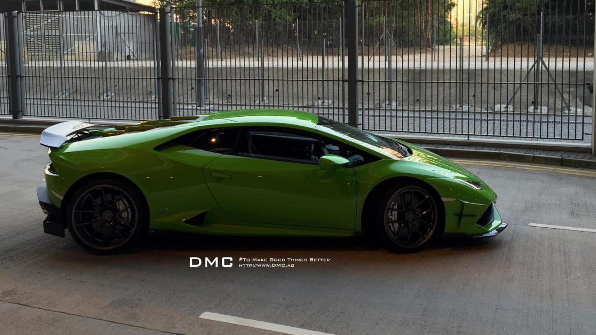 Суперкар Lamborghini Huracan Affari от DMC Tuning