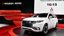 Mitsubishi Outlander PHEV Concept-S at 2014 Paris Motor Show