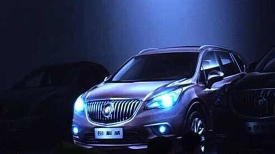 Buick Envision revealed in China