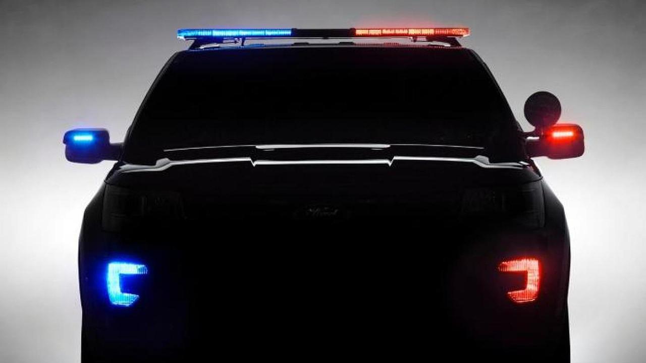 2016 Ford Police Interceptor Utility teaser