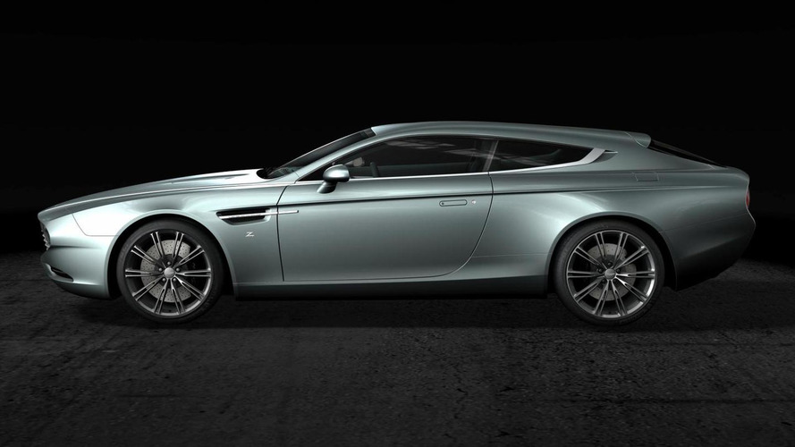 Aston Martin Virage Shooting Brake Zagato officially unveiled