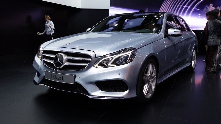 Mercedes-Benz E-Class long wheelbase variant debuts in Shanghai