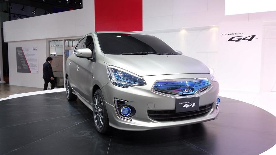Mitsubishi reveals G4 Compact Sedan Concept ahead of Auto Shanghai debut this week