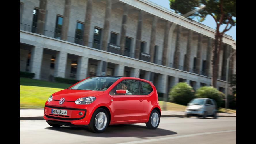 Volkswagen up!: la prova sulle strade di Roma