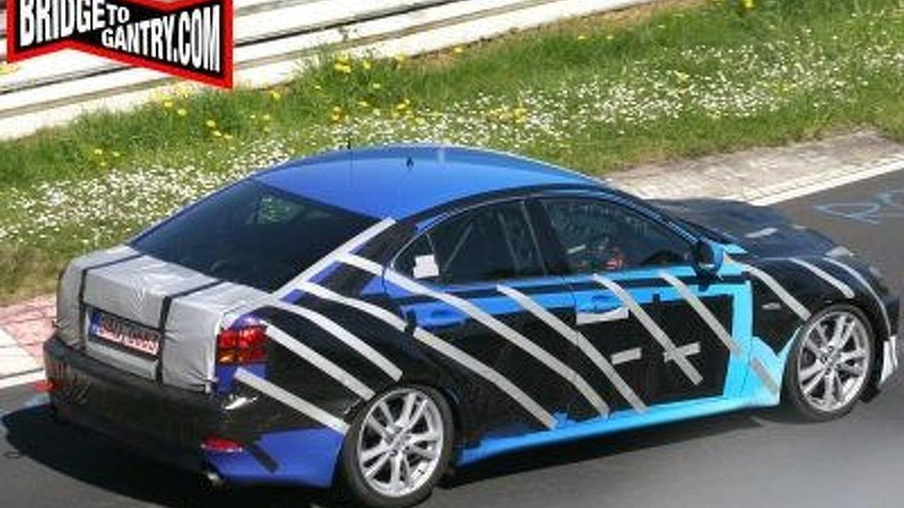 Lexus IS Facelift Spy