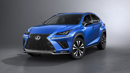 Refreshed Lexus NX Does Its Best LC Impression