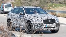 Jaguar F-Pace SVR Spy Shots