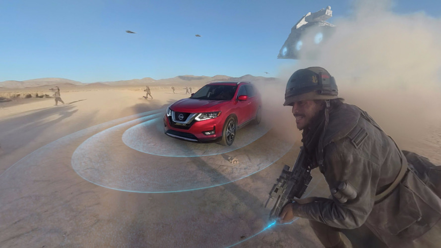 Nissan Rogue Star Wars Virtual Reality Experience