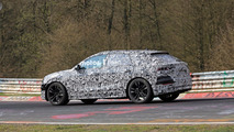 aAudi Q8 spied at the Nurburgring