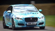 2018 Jaguar XJR - 2017 Goodwood Hız Festivali