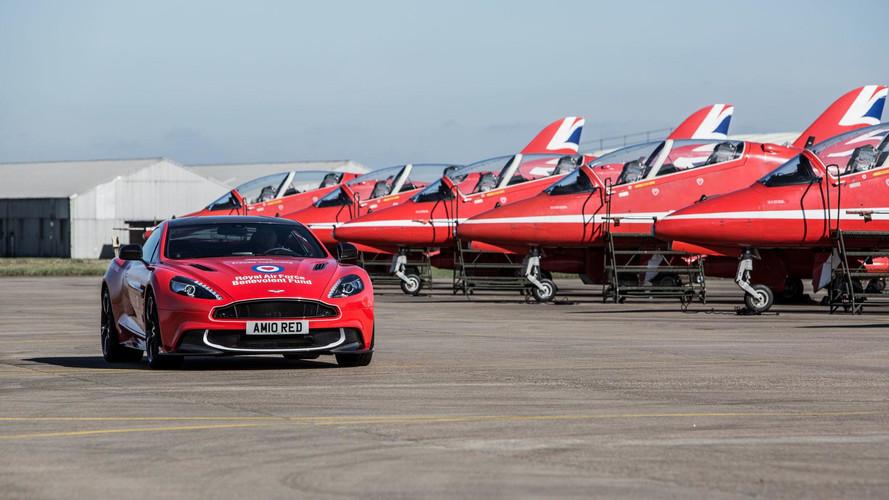 Aston Martin Vanquish S Red Arrows