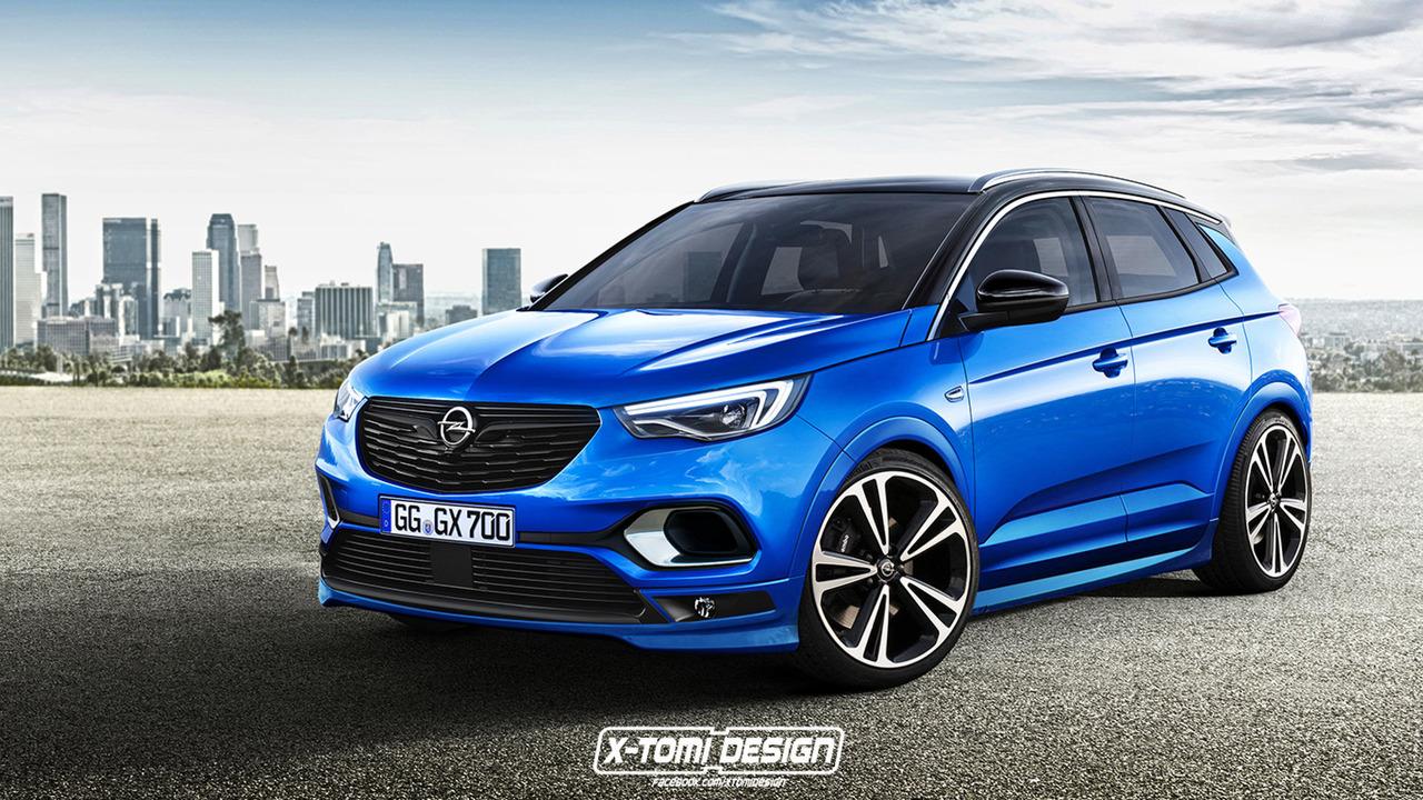 Opel Grandland X OPC Rendering