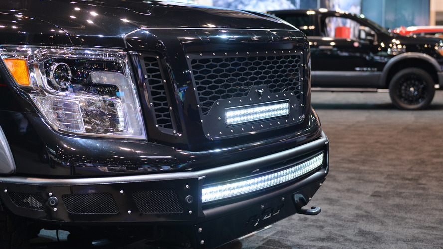 2017 Nissan Titan with Accessories: Chicago 2017