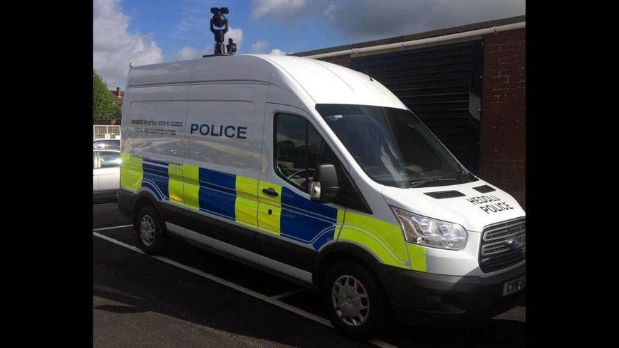 Man arrested using facial recognition van