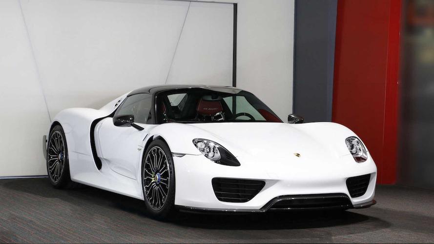 Yeni bir Porsche 918 Spyder alma şansınız hâlâ var